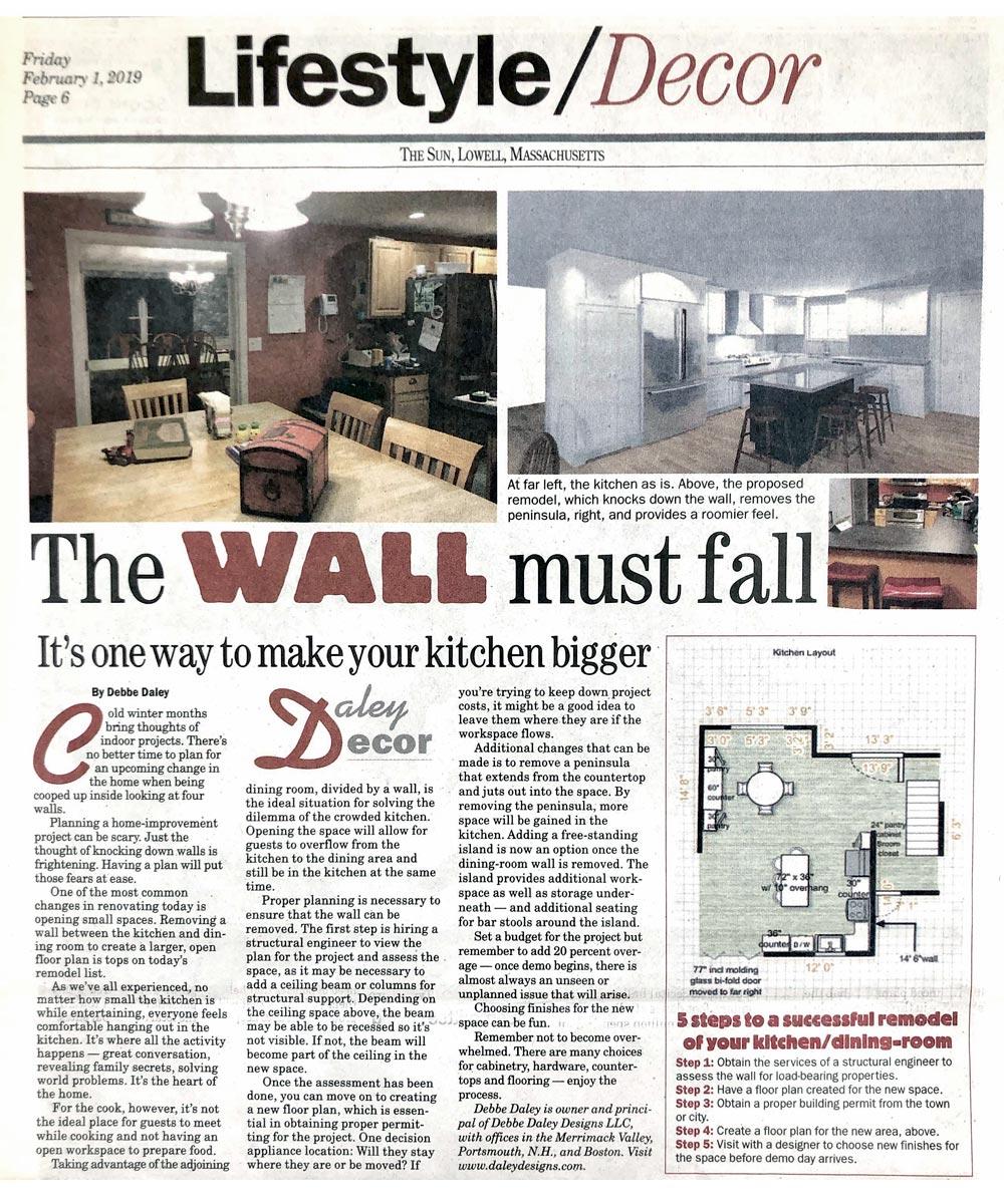 Daley Decor Lifestyle Column Articles Lowell Sun Debbe Daley 2