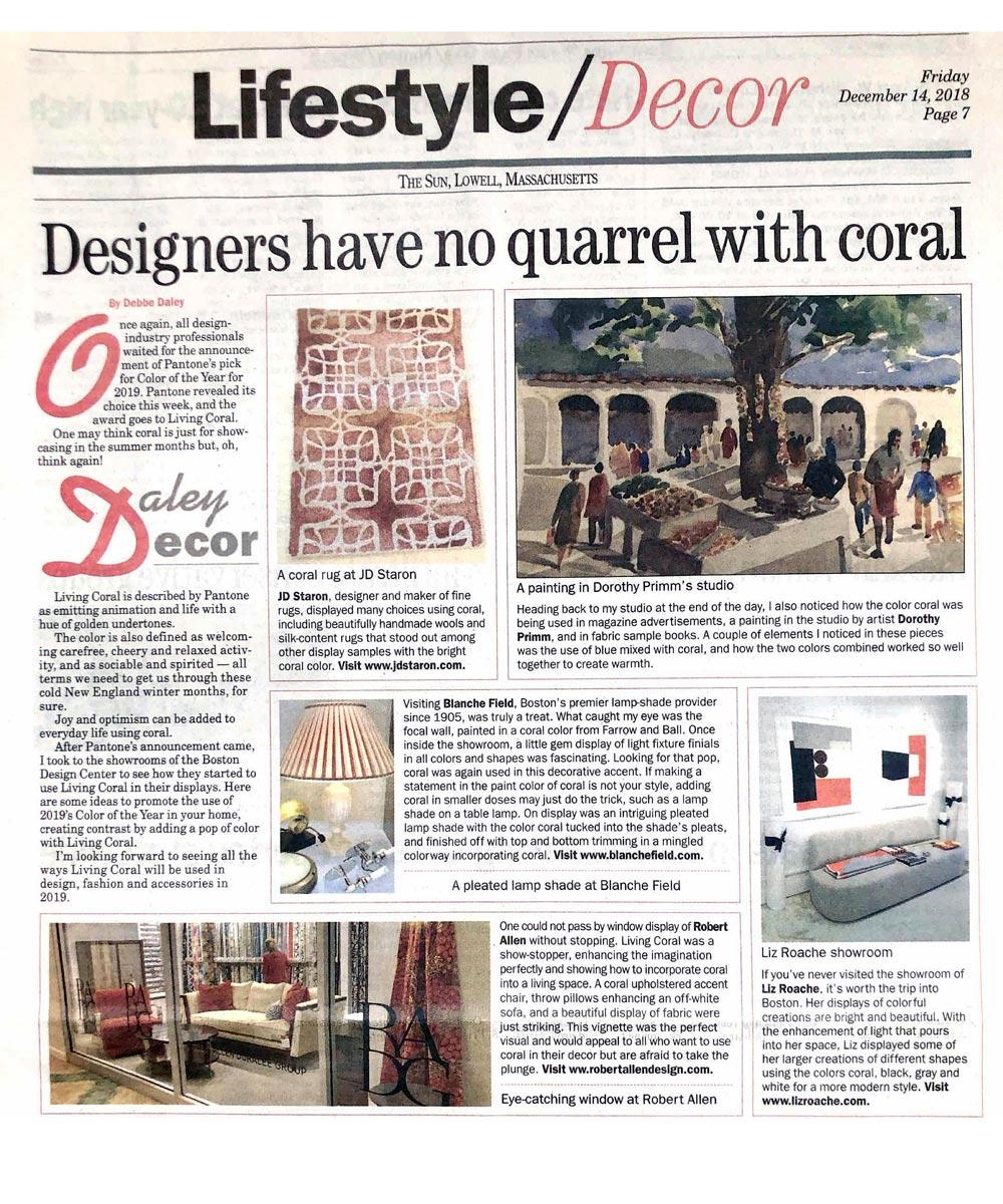 Daley Decor Lifestyle Column Articles Lowell Sun Debbe Daley 1