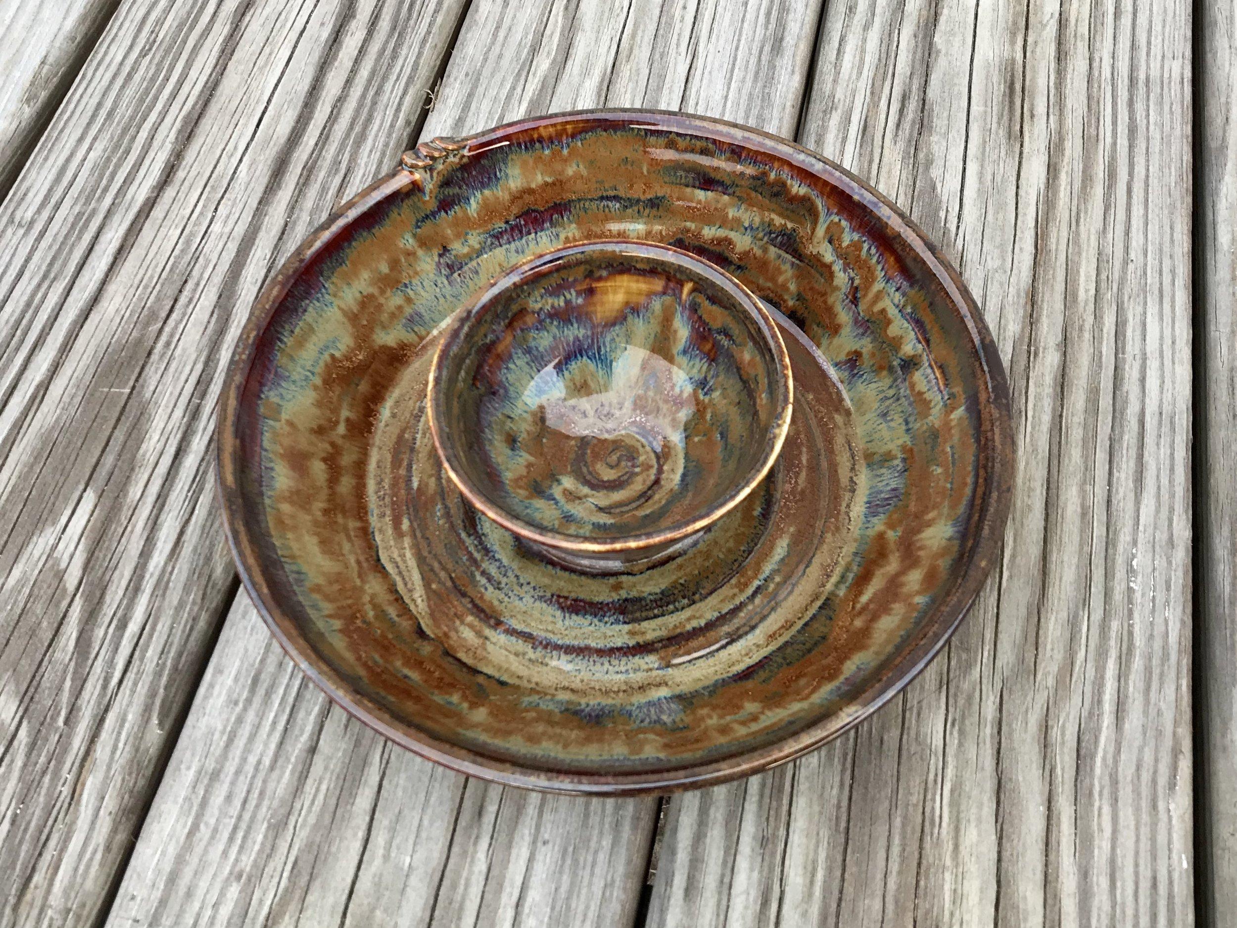 Earthtone Chip and Dip