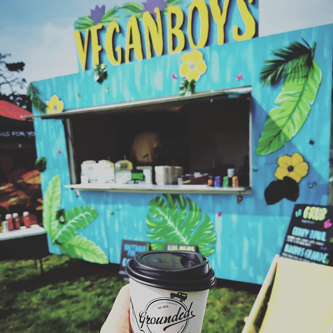 The Vegan Boys - Top notch Vegan and GF street food! All their food is free from: meat, dairy, eggs and animal products. This allows a more informed choice for vegans and those with special diets.. Make sure you check them out!