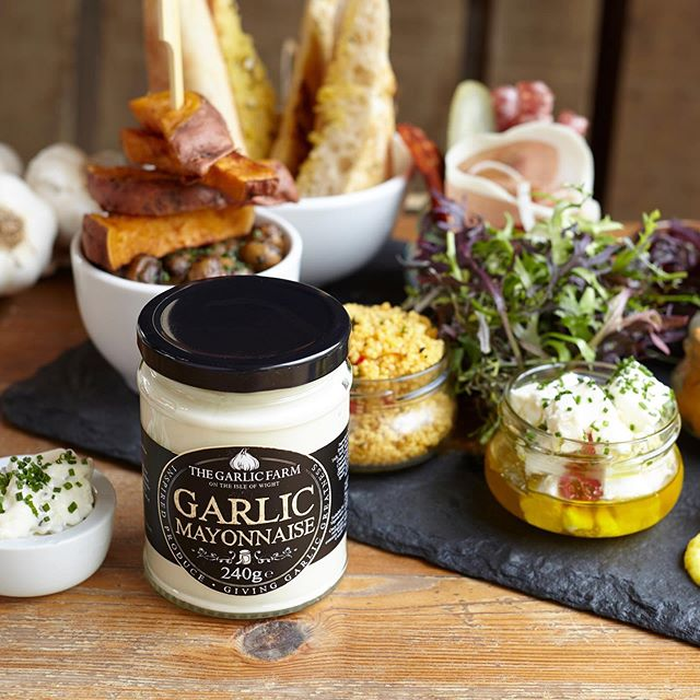 - THE BEST garlic mayonnaise!