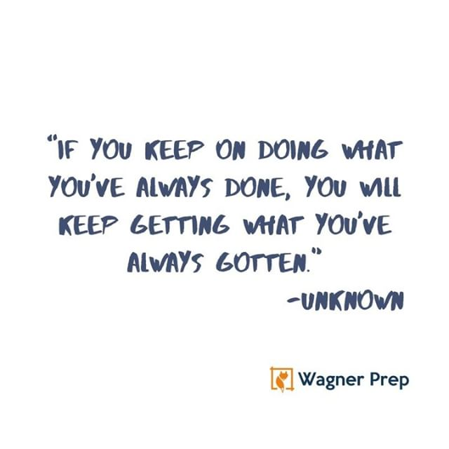 A good reminder as we enter the dog days of summer. SAT/ACT prep is hard work. If you don't change up your routines, you will find yourself facing the same problems. ⠀⠀⠀⠀⠀⠀⠀⠀⠀ ⠀⠀⠀⠀⠀⠀⠀⠀⠀ Test prep coaches can help. From setting SMART goals to shoring up foundational skills, to excel you must put the time in. There is no way around it, but having a coach to guide you or a class to hold you accountable can help. ⠀⠀⠀⠀⠀⠀⠀⠀⠀ ⠀⠀⠀⠀⠀⠀⠀⠀⠀ #college #collegesadmissions #highschoolseniors #satprep #actprep #collegeapplications #collegeapps #guidancecounselor #collegebound #collegeready #students #highschool #highereducation #highered #payingforcollege #academicscholarships #admissions #sophomores #juniors #parentsofteens #collegescholarships #parentssathelp #testprepnewyork #testprepny #testprepmanhattan
