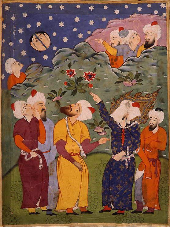 Mohammed Splits the Moon