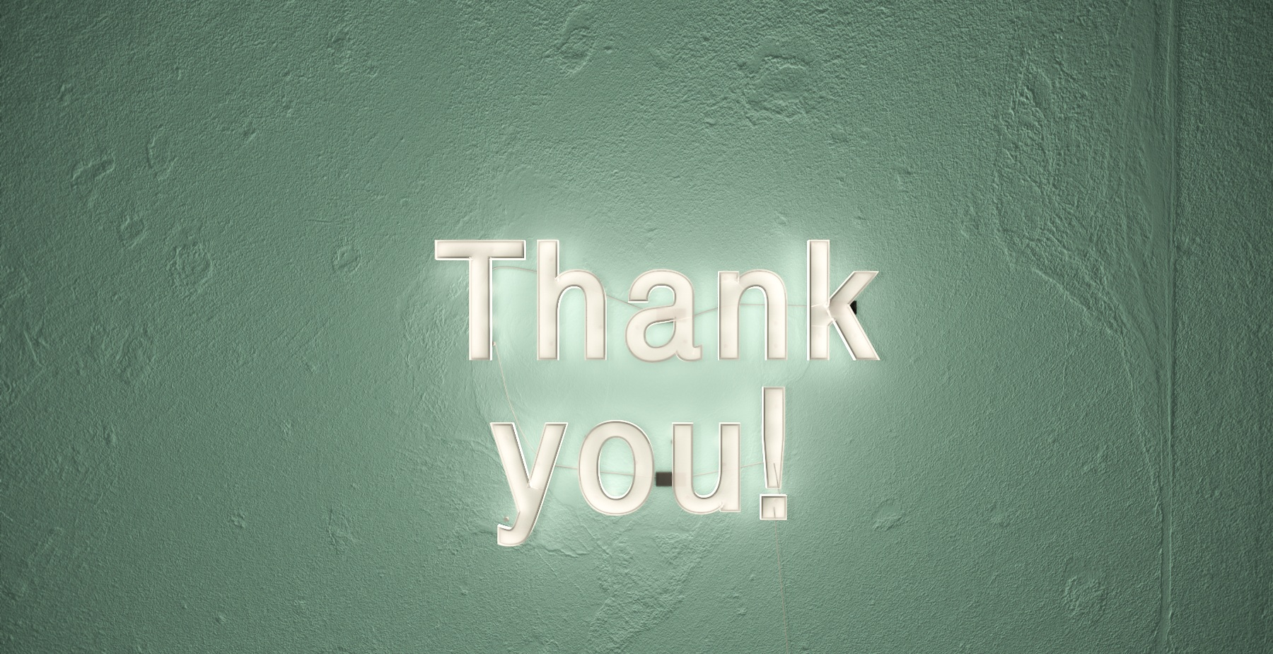 Use your thank you - page effectively