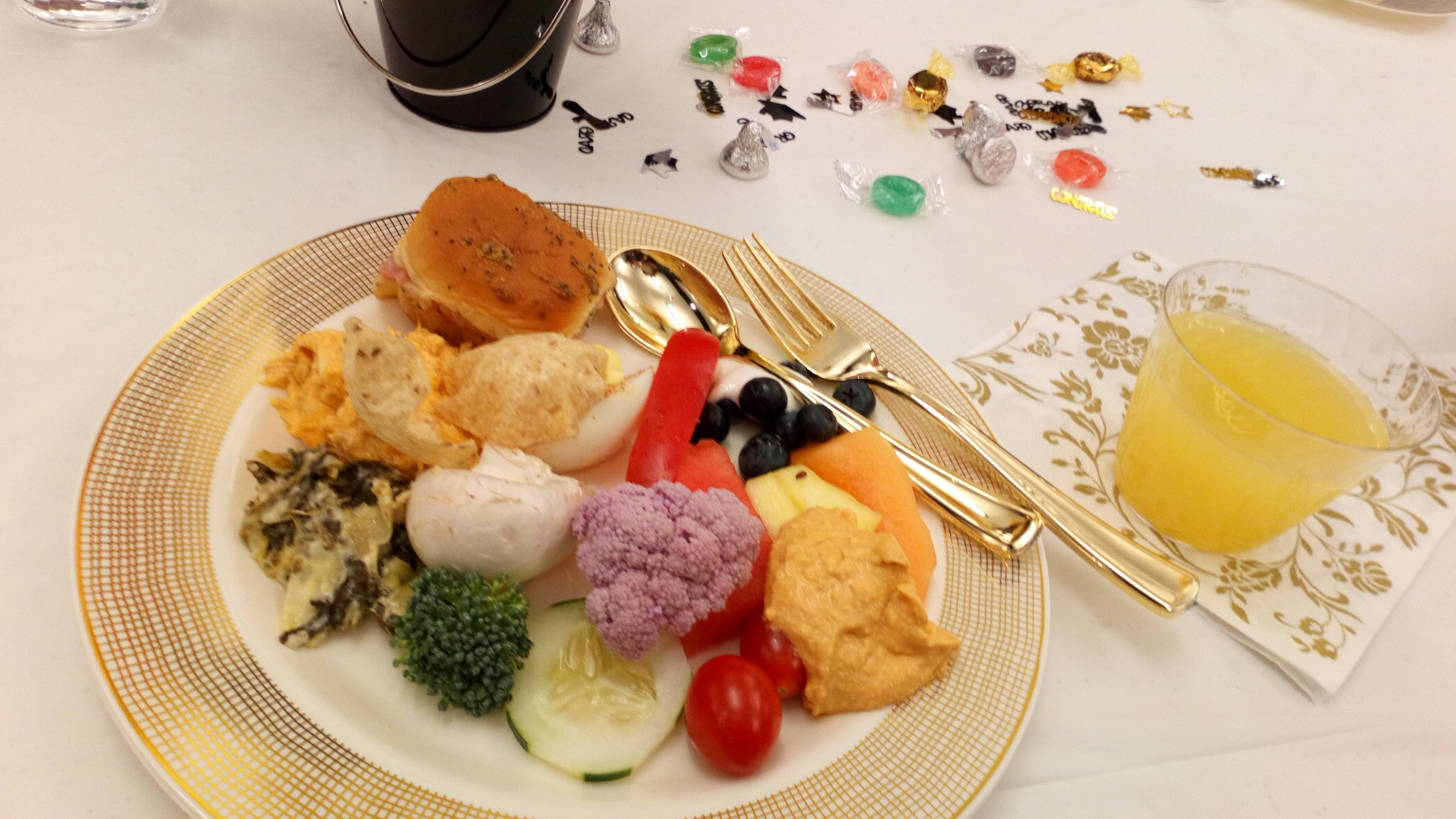 Graduate Luncheon Food plate.JPG