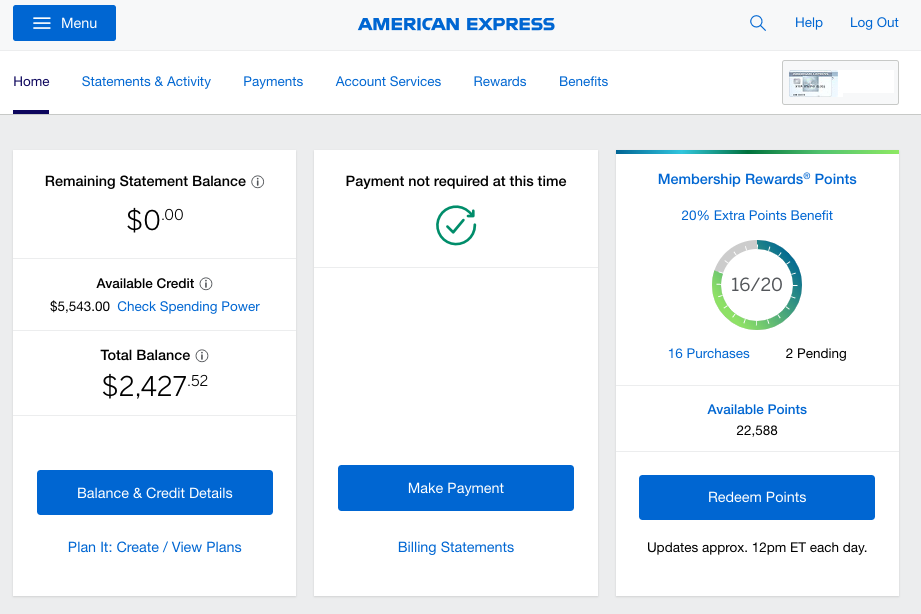 American Express (financial services enterprise) - > In the 1850s, AmEx started as a mail distribution company. They've since crafted a strong brand as a reputable financial services company.In 2015, digital property like AmericanExpress.com was split in tabs by department and their corresponding VPs, Directors, and Product Managers. As such, design, information architecture, and user flow were different dependent on the product used.