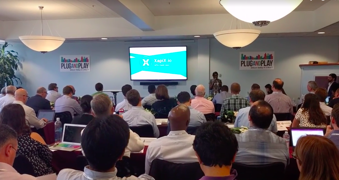 #pitch XapiX @ Plug and Play accelerator - XapiX demoAugust 2017