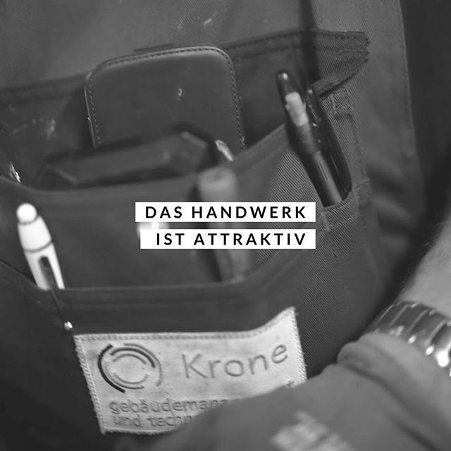 Wir setzen jeden Tag auf das Handwerk. Für uns gibt es nichts Attraktiveres!  #wirbeikronegt #teamkronegt #kronegt #lustaufhandwerk