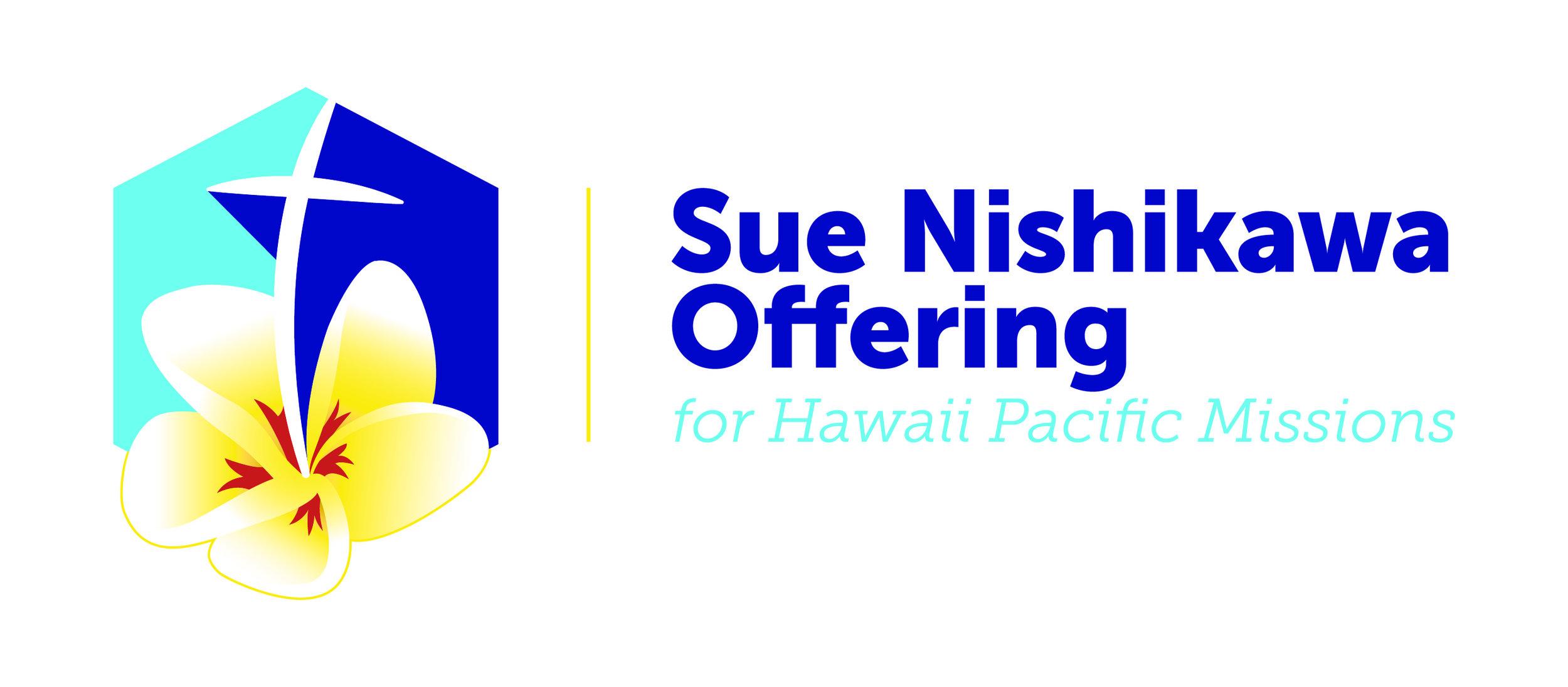 Sue Nishikawa Offering Logo