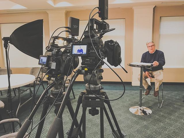 Our #videographers are on location today in Richmond, VA, #filming for the Christian Counseling & Training Center! Thankful for #clients who focus on renewed living through #Scripture.