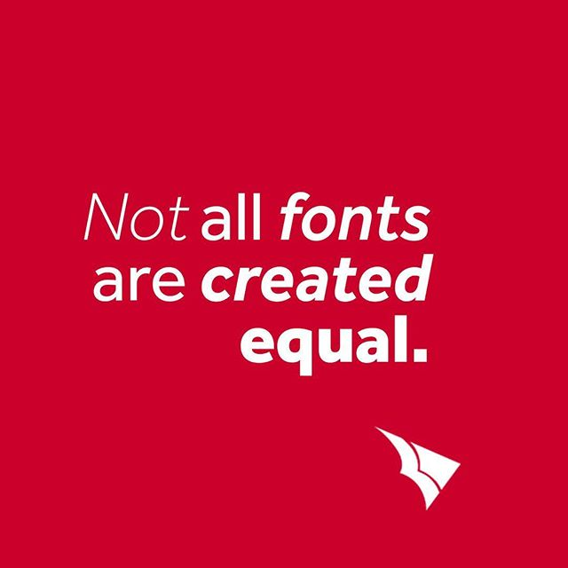 When choosing #fonts for your #brand, remember that not all are created equal. Set your brand up for #success and #versatility by choosing a font with multiple weights: this keeps your look on target and consistent. Bonus for finding fonts that feature condensed versions as well!