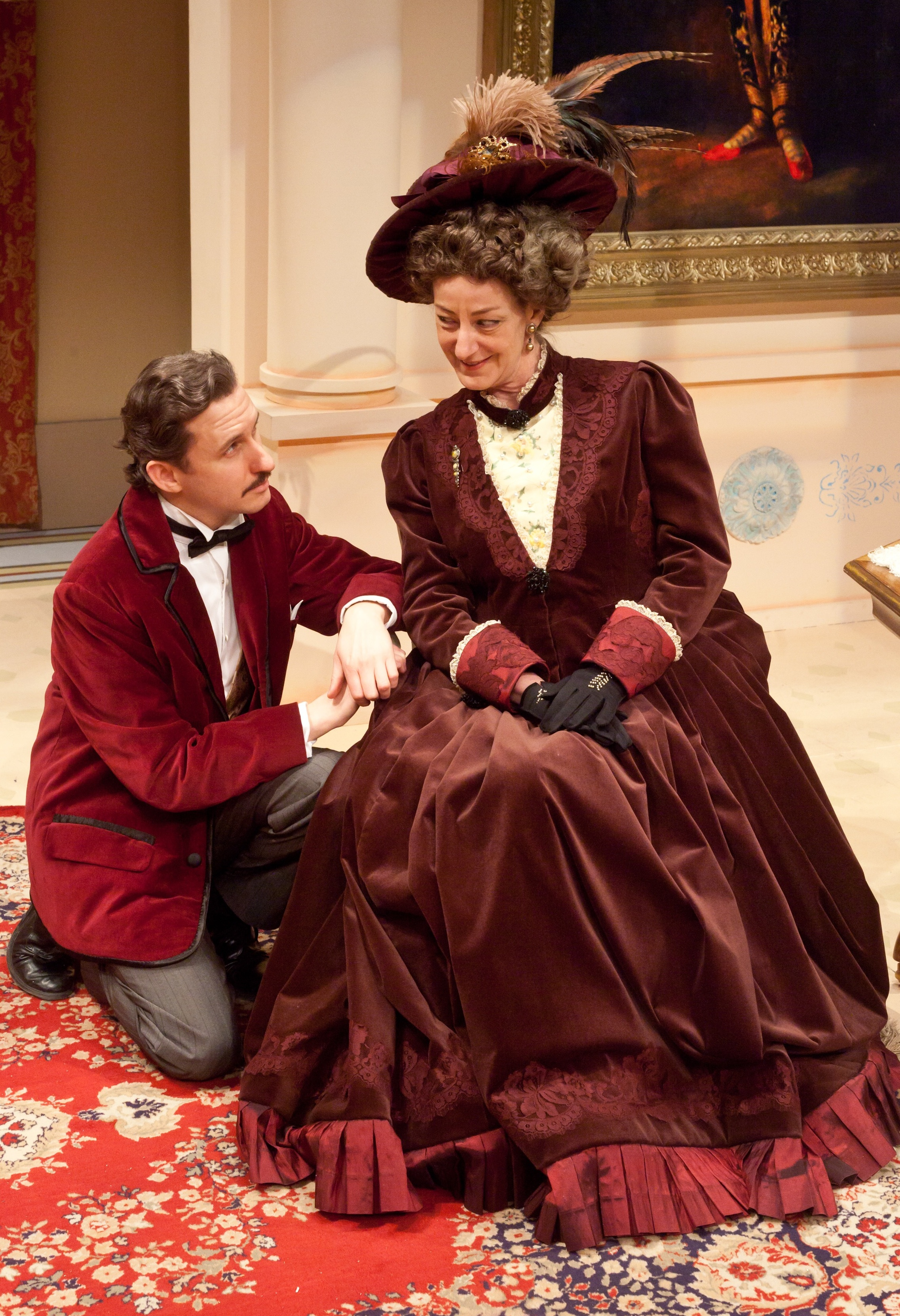 (Neptune Theatre,  The Importance of Bring Earnest  *Merritt Nomination for Outstanding Set/Costume Design. Set/Costume Sean Mulcahy | LX Kevin Fraser) photo by Timothy Richards