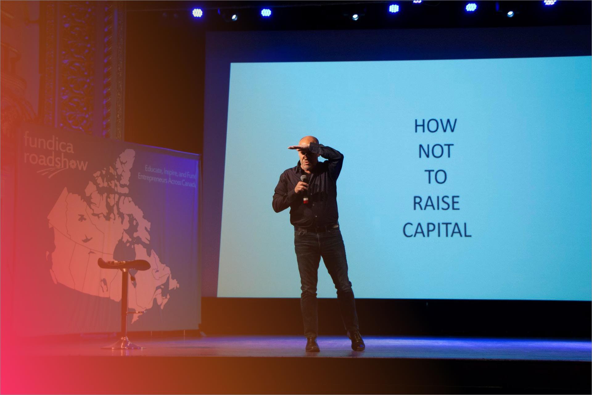 Apprenez des experts d'industrie - Des entrepreneurs et dirigeants d'entreprises d'expérience partagent leurs histoires sur la scène de la Tournée Fundica.Voir les keynotes passés ➝