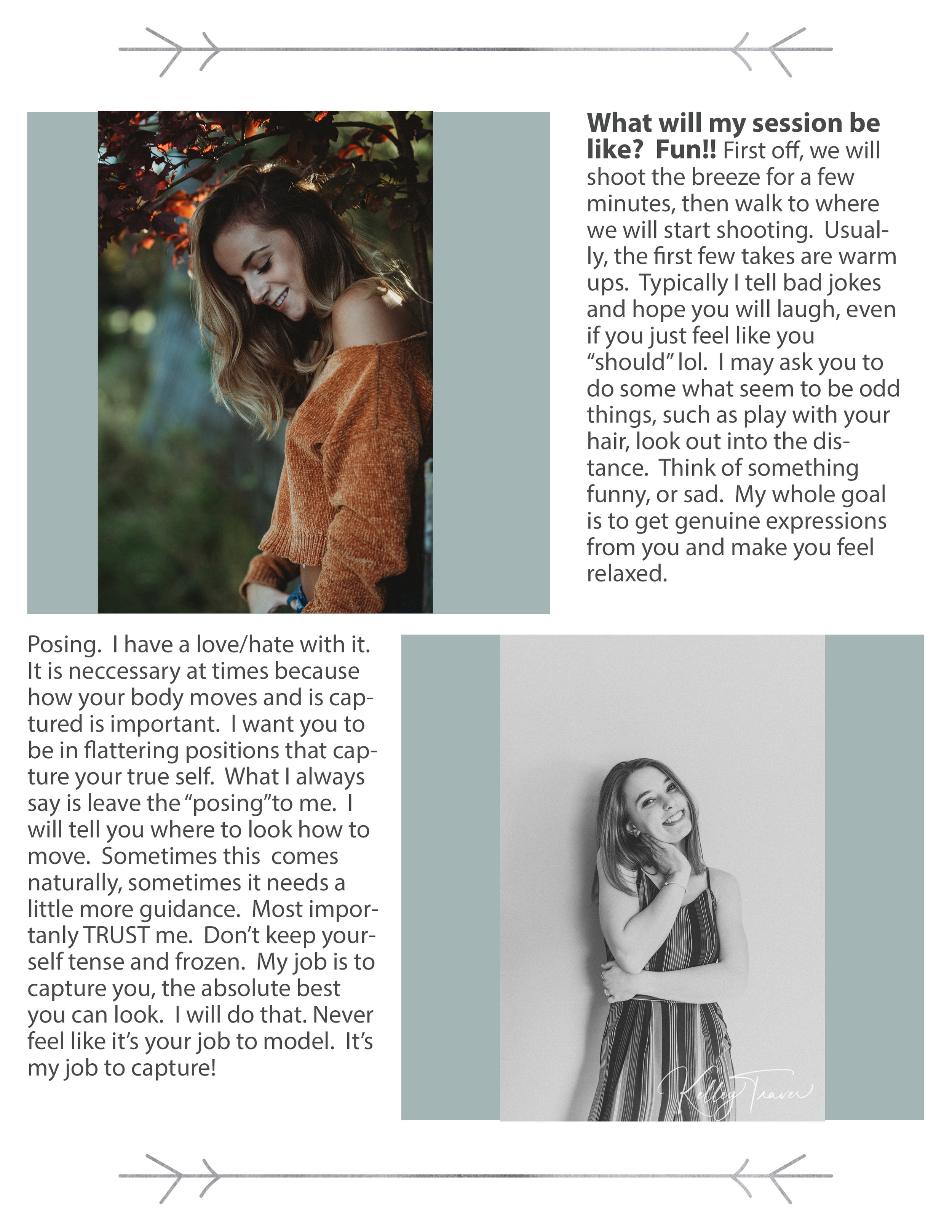 Senior portraits in style, posing, being you…