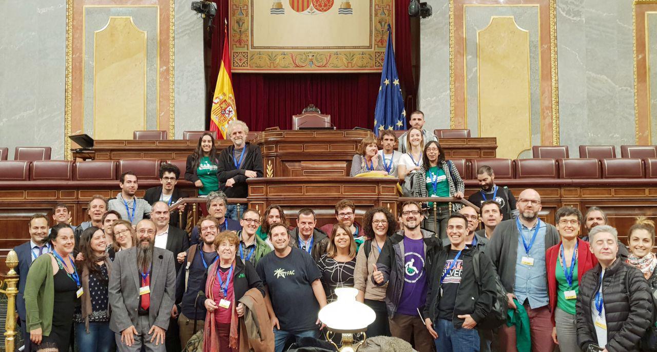 Octubre 2018 - Participación en el Congreso de los diputados