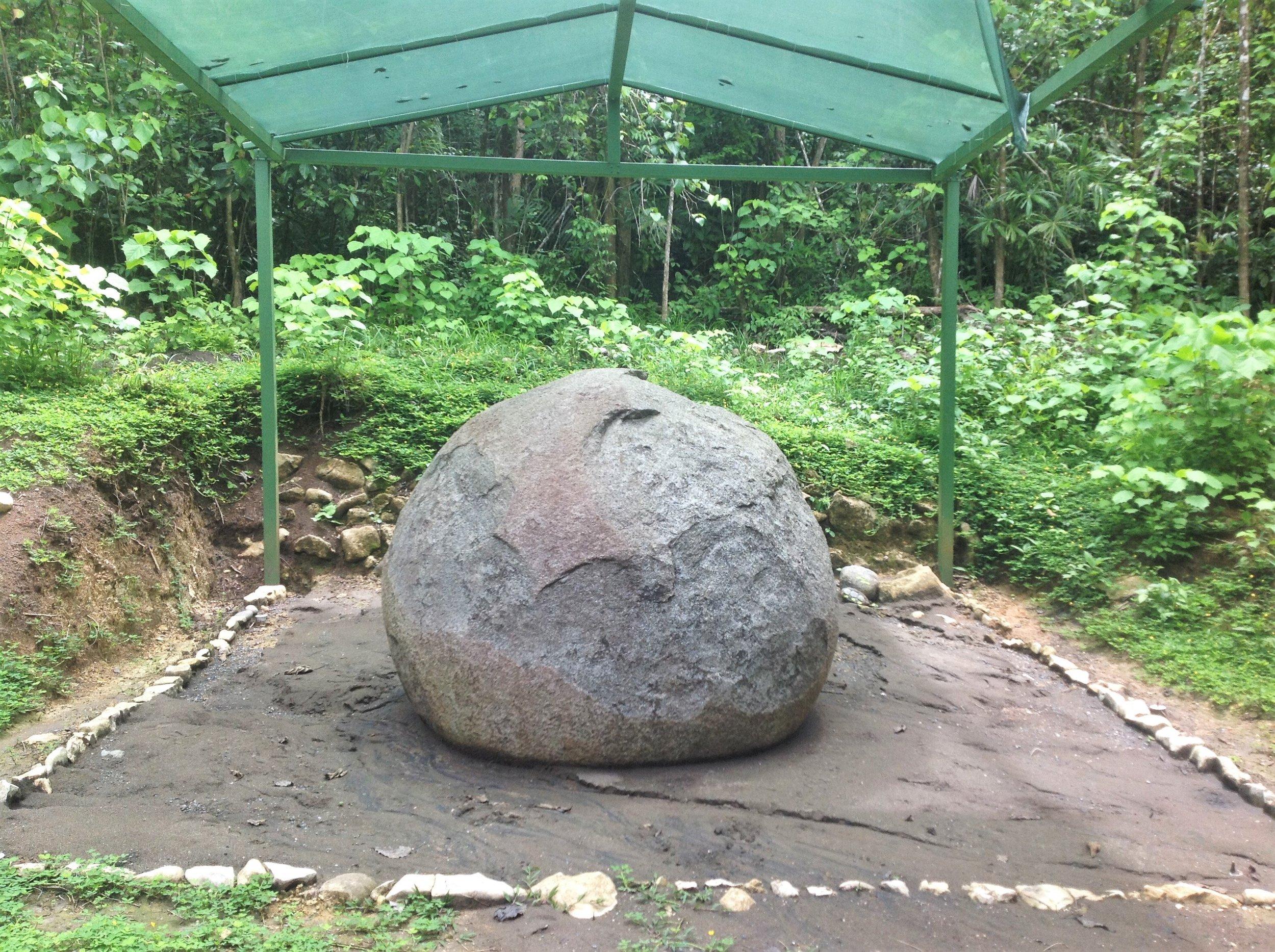 El Silencio Archaeological Site - Puntarenas Province