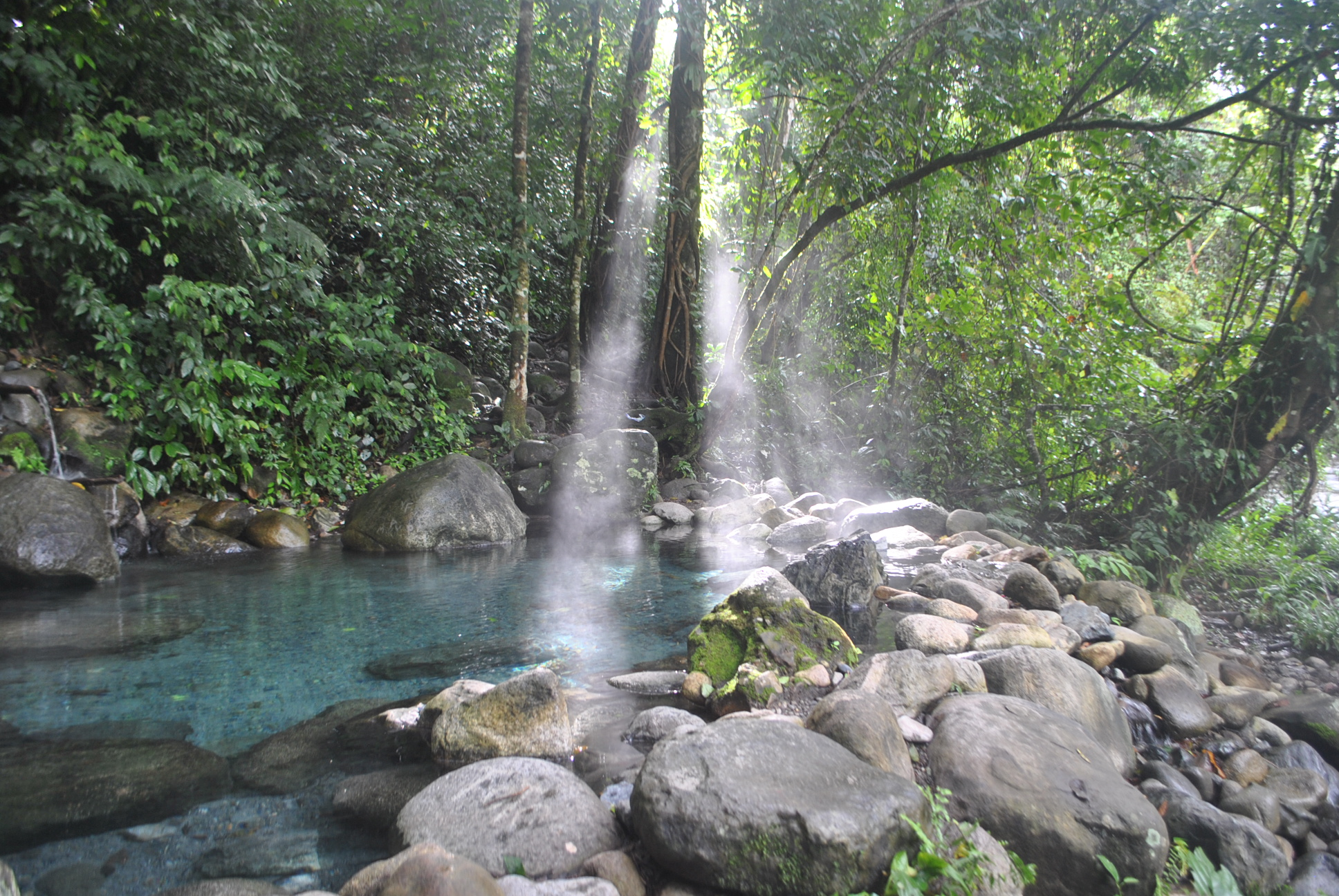 Aguas Calientes Natural Hot Springs - Puntarenas Province