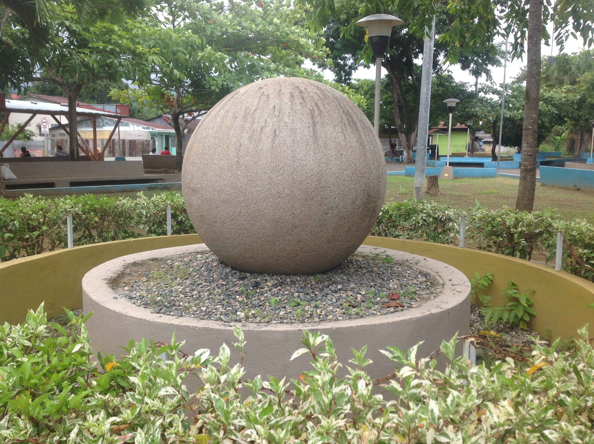 Ciudad Cortés Stone Spheres