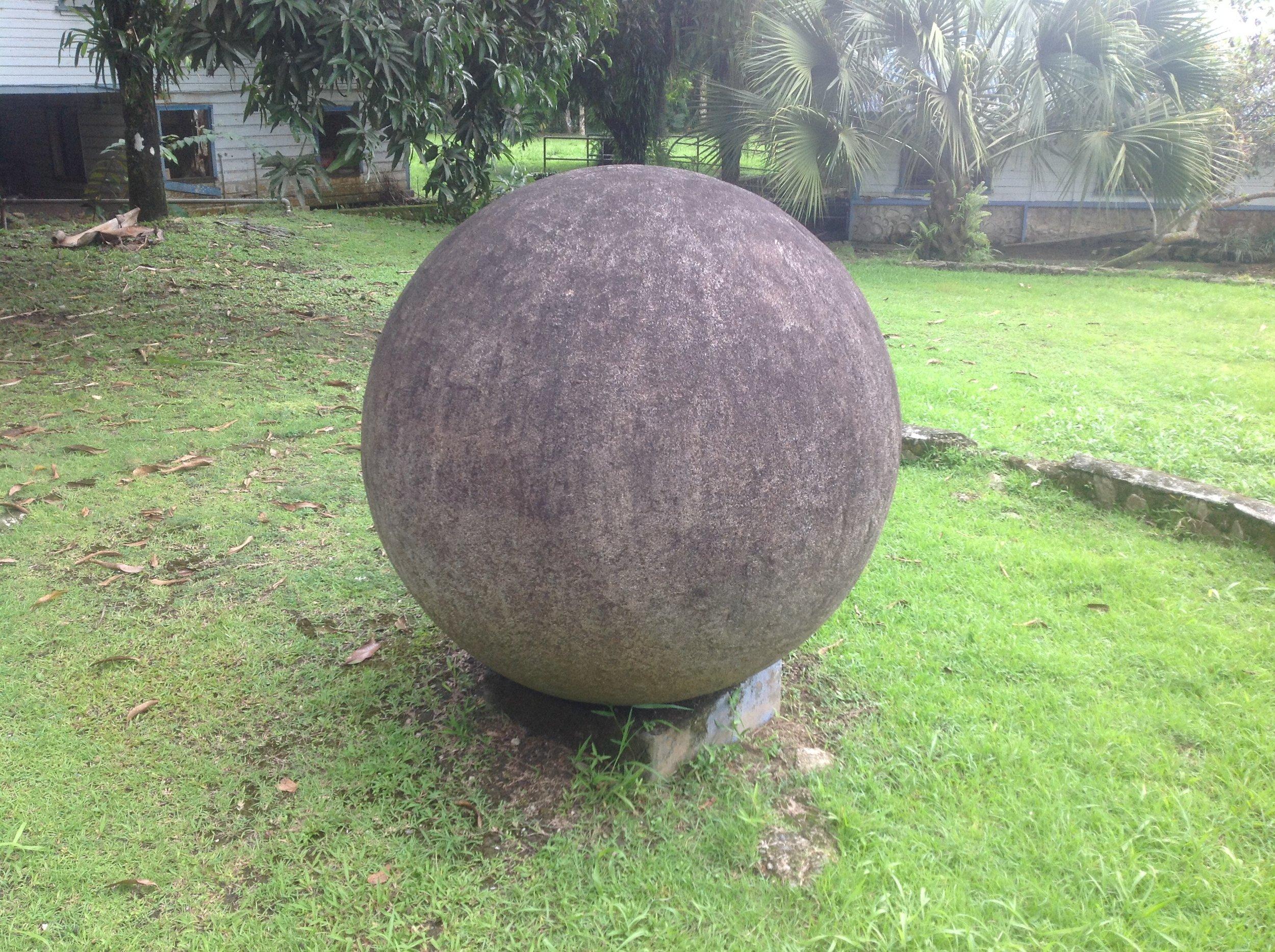 Golfito Stone Sphere