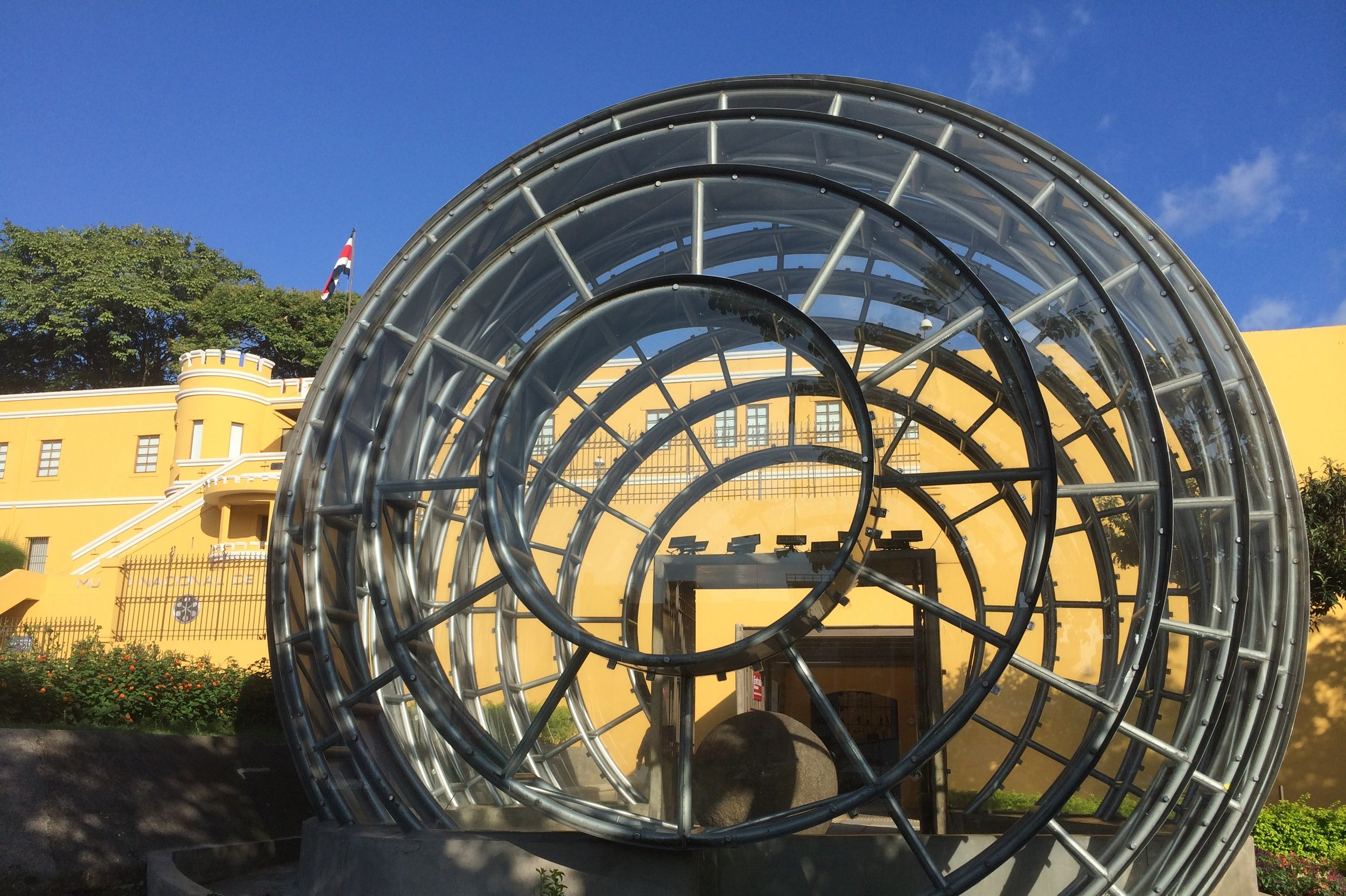 Museo Nacional Stone Sphere
