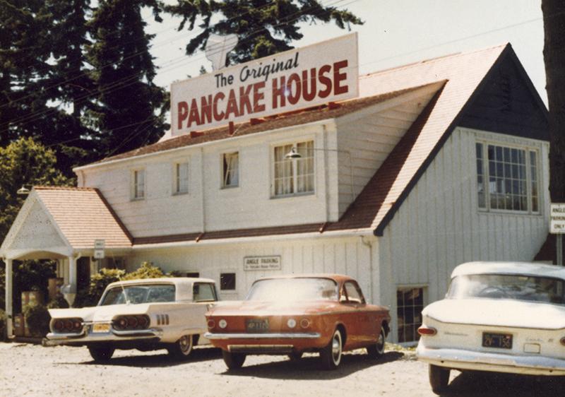 Our first restaurant / Portland, Oregon