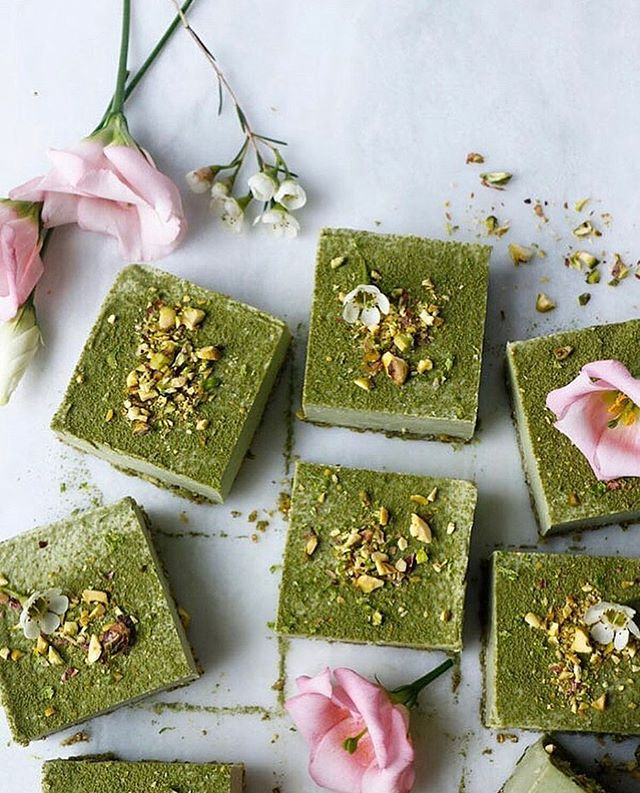 We're loving this creative recipe for #Moringa squares by @nirvanacakery! Thank you for inspiring us! 🌿