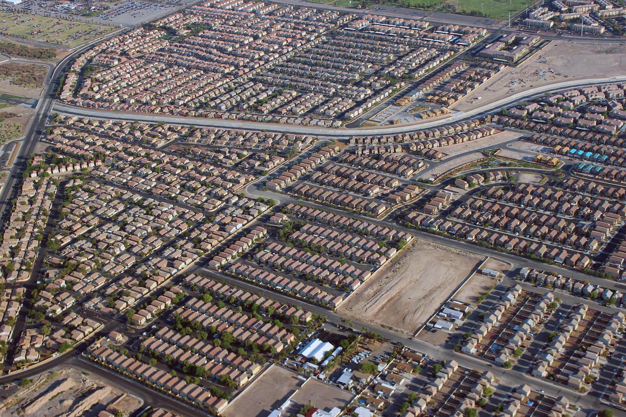 Aerial Photograph of Las Vegas