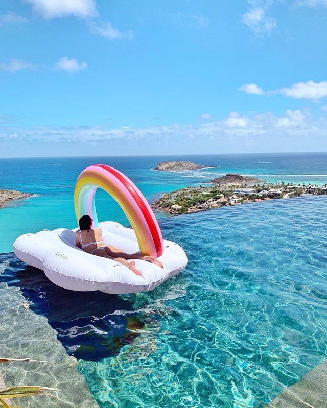🌈Found the pot of gold in St. Barth...pretty sure we left it at Nikki beach tho #thewaittisover