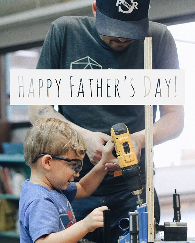 Happy Father's Day to all you dad's out there! Being a dad is one of the most important jobs out there. Let's all work on growing in our role of DAD this year! Let's be more intentional about setting aside quality time to spend with our kids. Let's include them in our hobbies or start some new ones together. No matter how old or young our kids are theres no time like the present for stepping up our dad game. Our kids are counting on us. Happy Dadding!
