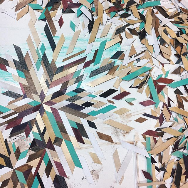 What I've learned from these kids wood quilt classes.... very fun, awesome finished products, but A LOT of prep work! 😅Parent & kid wood quilt class is tomorrow at 6!! Link in our bio to the event!  #woodquilt #makerspace #makersgonnamake