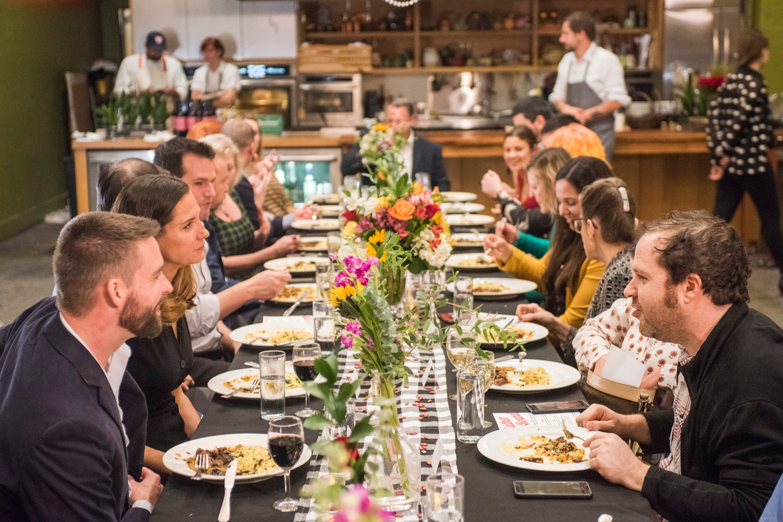 """Gambel Communications recently planned and hosted a """"Gather Round"""" influencer dinner with Camellia Brand Beans and Chef Alon Shaya.  See full Case Study ."""