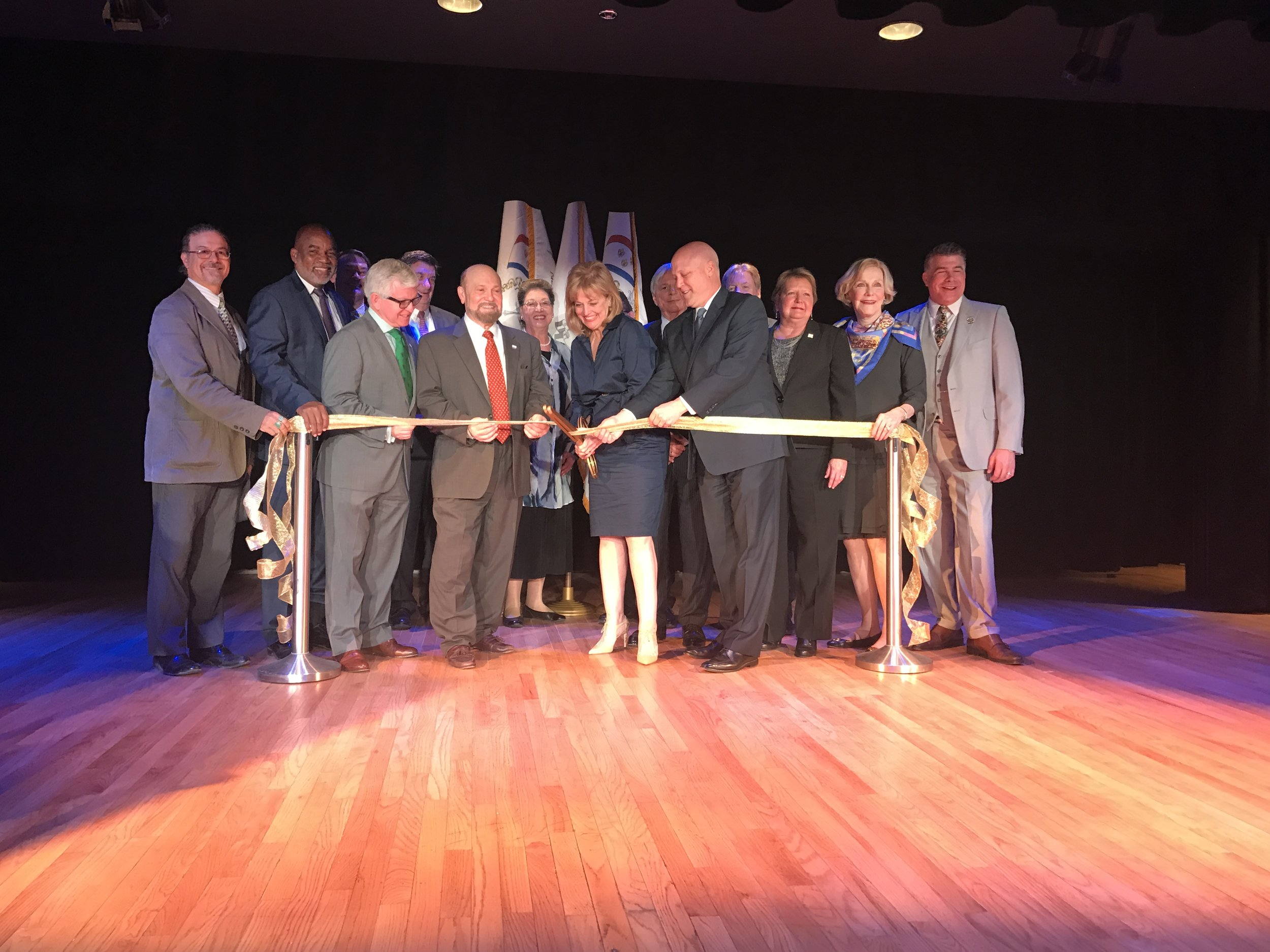 Gallier Hall Ribbon Cutting