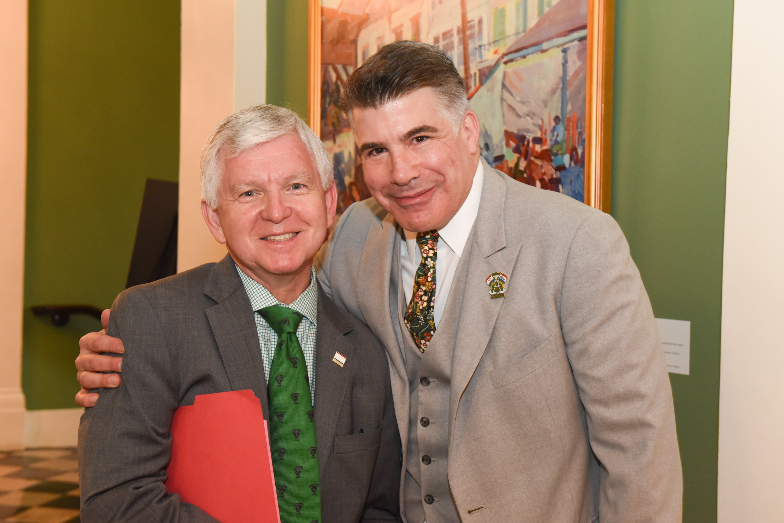 Mark Romig and Bryan Batt