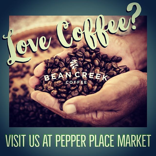 This morning from 7-12 hot brewed coffees and our delicious ColdBrū on draft.  Happy people roast happy coffee ❤️ beancreekcoffee.com  #marketatpepperplace #localisbetter #farmersmarket #coffee #coldbrew #coffeeroaster #specialtycoffee #coffeelover #coffeeaddict #coffeegeek #barista #birmingham #hoover #homewood #mountainbrook #greystone #montgomery #nashville #fellowshiphouse #nokidhungry #compassioniscool