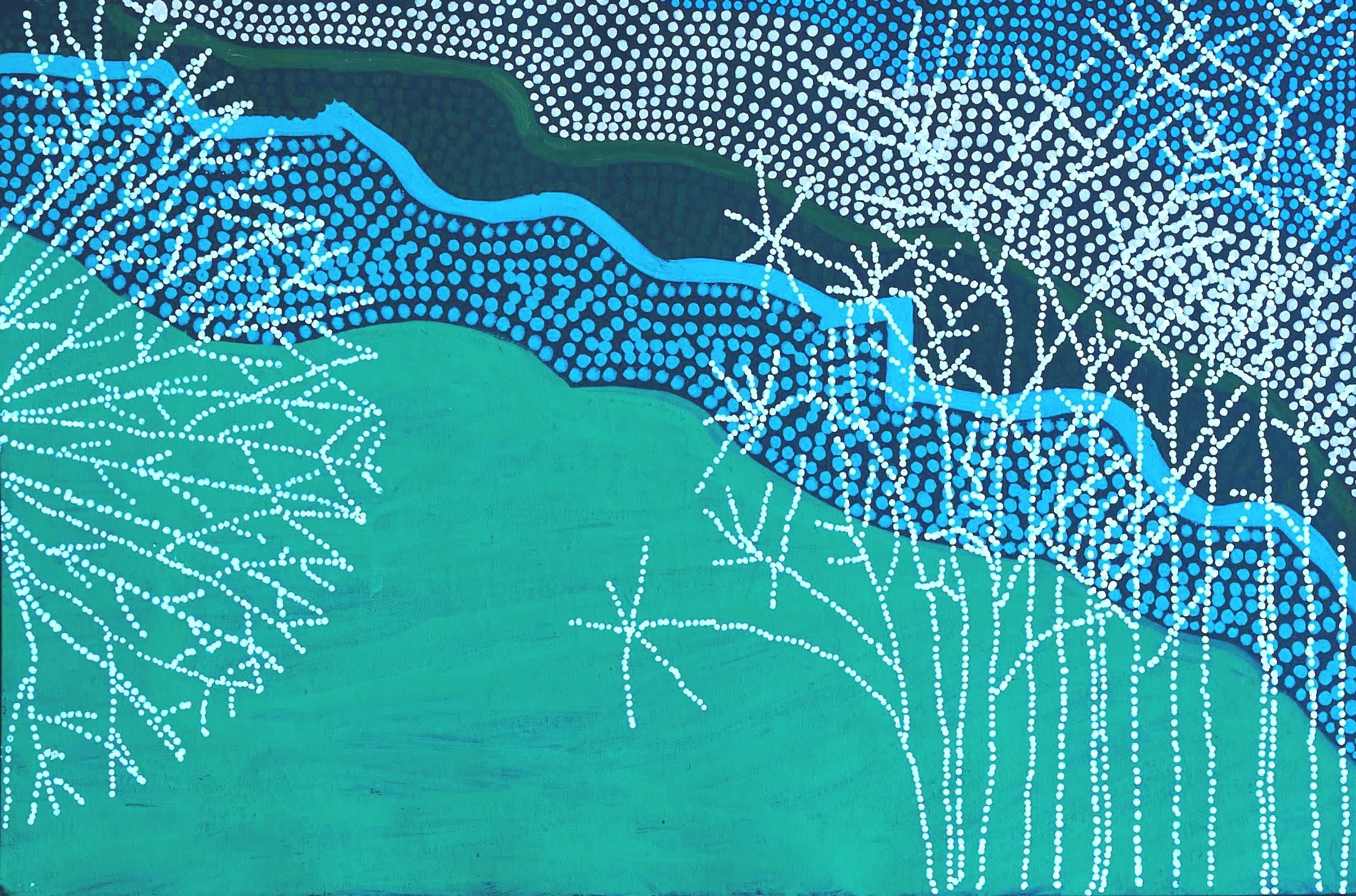organic - work on paper; acrylic paint pens21cm x 14.8cmMarch 2018