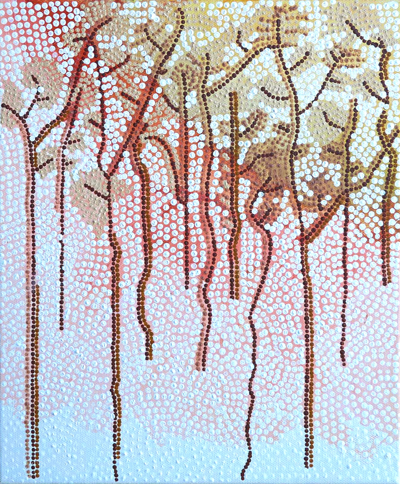 Only the eucalypts know (triptych)