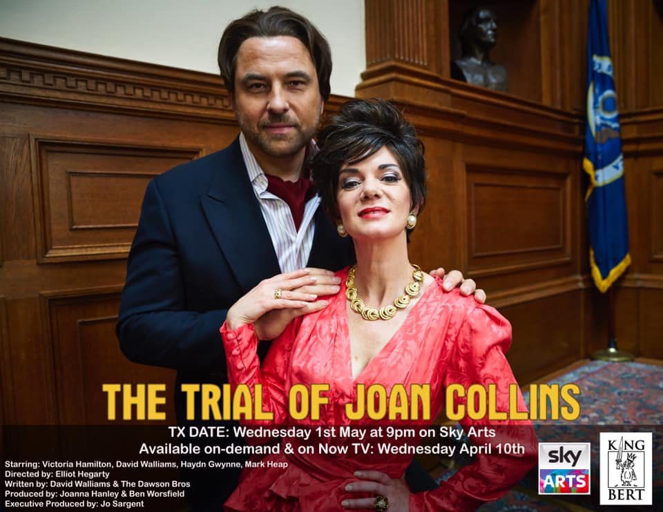 Urban Myths: The Trial of Joan Collins - Jeremy assists Ian Arber and writes additional music on Sky's comedy drama 'Urban Myths', which stars Victoria Hamilton and David Walliams.