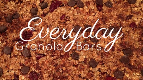 Everyday Journalista, The Everyday Journalista, Granola Bars, Homemade granola bars, no bake granola bars,