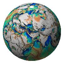 Near-global SEEBASE Depth to Basement coverage
