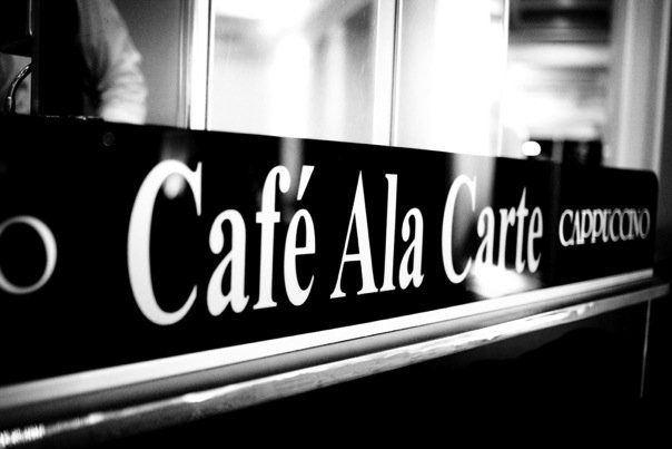 Cafe Ala Carte BW.jpg