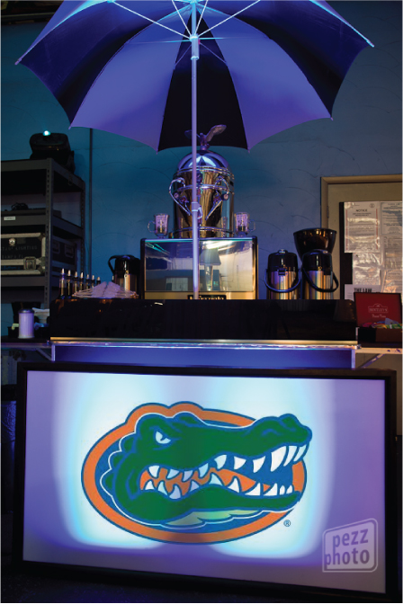 Cafe Ala Carte UF Gators Glow Bar.jpg