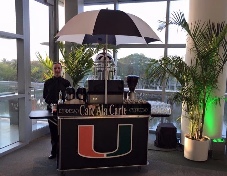 Cafe Ala Carte Miami hurricanes custom branding.jpg