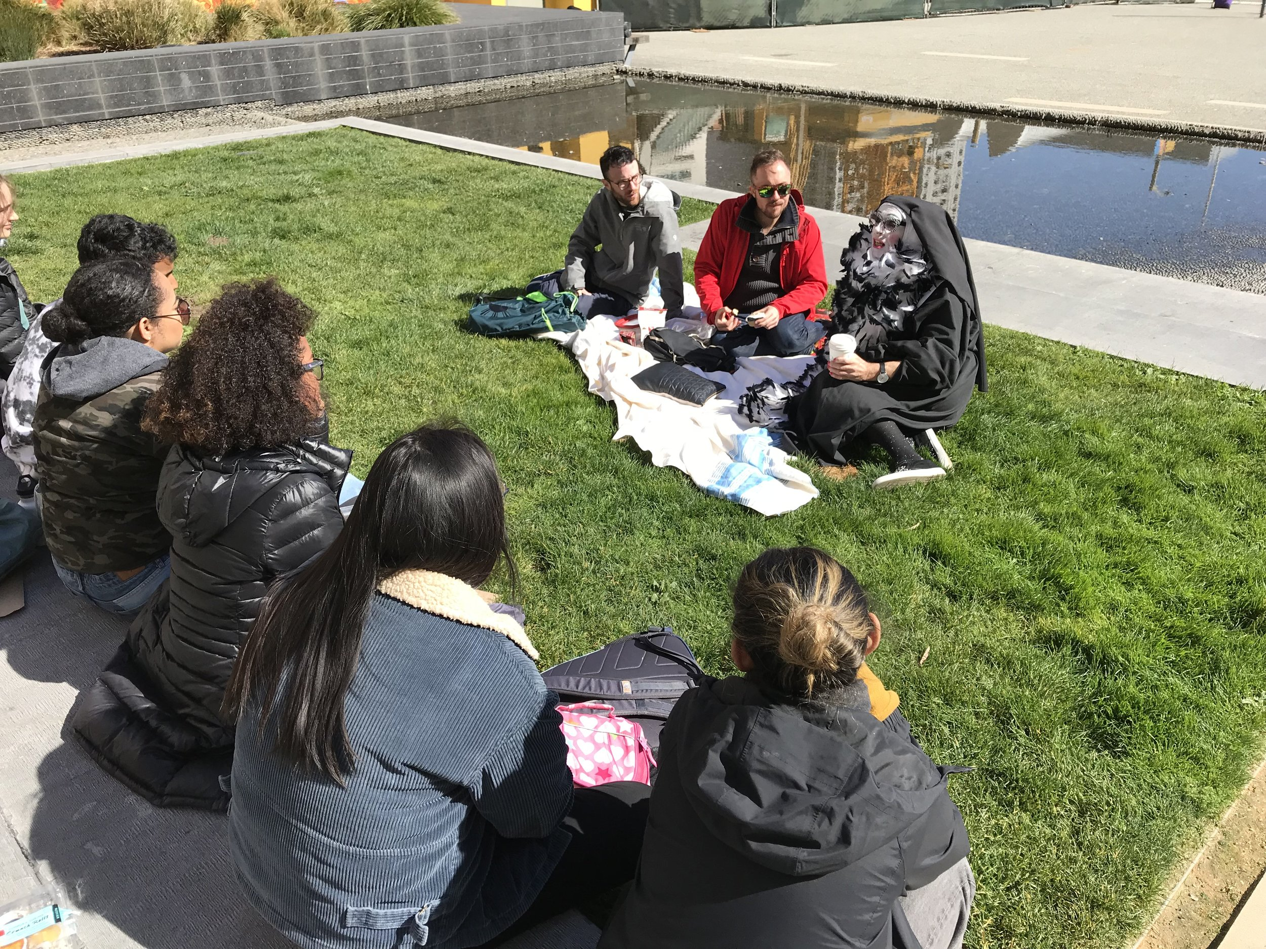 Salt Lake City College at Project Open Hand, March 2018