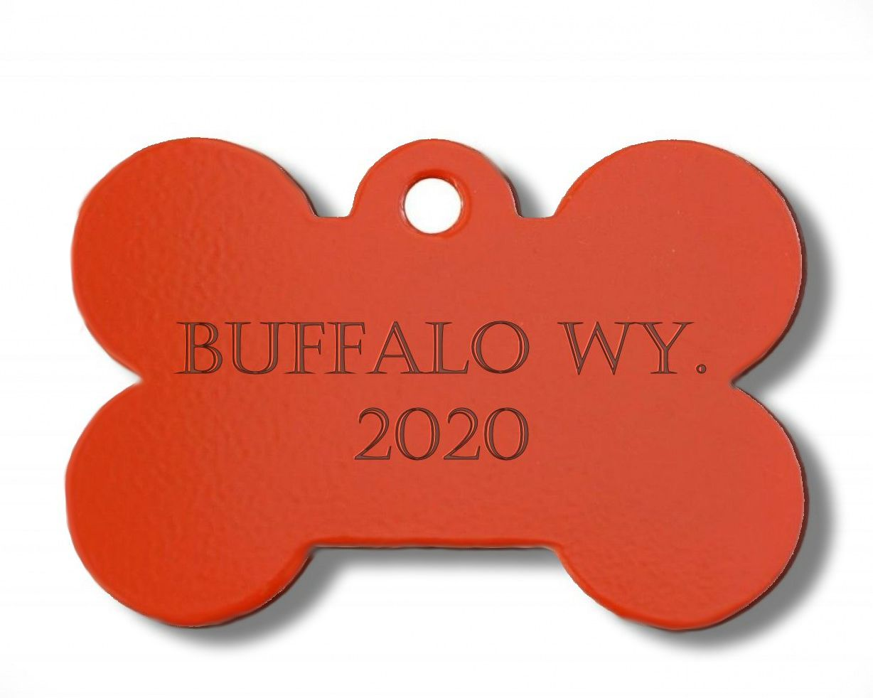 City License Tags - If residing within the city limits of Buffalo, all dogs MUST have a City License Tag.In order to obtain a City Tag, the dog MUST have proof of current Rabies vaccine. License includes one tag and is valid for two years.Altered: $10.00Unaltered: $20.00