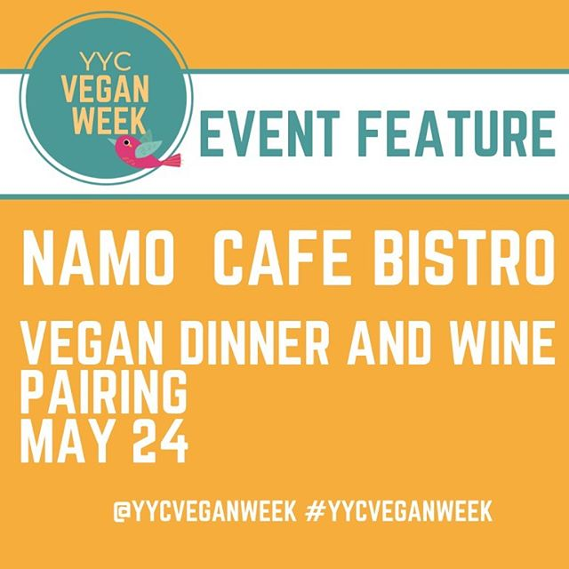Just when you thought YYC Vegan Week couldn't get any better (and in case you missed them in our stories) we wanted to highlight the 2 events we are partnering with @namoyyc and @winebarkensi on during YYC Vegan Week!! Namo Cafe Bistro is holding a 3-Course Tasting Dinner with wine pairings on May 24 at 6pm for $42/person which you can call 403-475-7010 to reserve. And Winebar Kensington is hosting a vegan Wine + 'Cheese' event with a vegan cheese and charcuterie board paired with a tasting of 4 different wines on May 25 from 3-6pm for $50/person - go to www.winebarkensington.com to reserve!! 🍴🍷🧀🥖🍴🌱 #yycveganweek #yycgoesvegan . . . . . . . #yyc #yycliving #yycevents #yycfoodie #vegan #vegansofig #vegansofinstagram #vegansofcanada #govegan #veganfood #veganfoodshare #veganlifestyle #veganliving #bestofvegan #vegancommunity