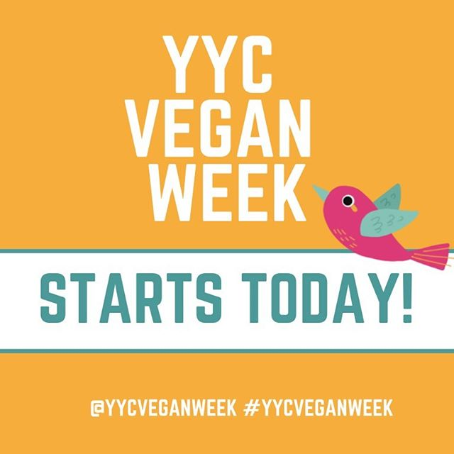 The day has finally arrived!! Today is the first day of the first ever YYCVW 2019!! Go to www.yycveganweek.com/contestants to see all the participating restaurants and what dishes they are featuring for YYCVW. Don't forget to VOTE for your favourite dishes in our categories of 'Best Vegan Meal' and 'Best Vegan Dessert' on our website as well!! Happy eating friends… we can't wait to see all your food pics!! 👏🌱🍴🍓🤗💓 #yycveganweek #yycgoesvegan . . . . . . . #yyc #yycliving #yycevents #yycfoodie #vegan #vegansofig #vegansofinstagram #vegansofcanada #govegan #veganfood #veganfoodshare #veganlifestyle #veganliving #bestofvegan #vegancommunity