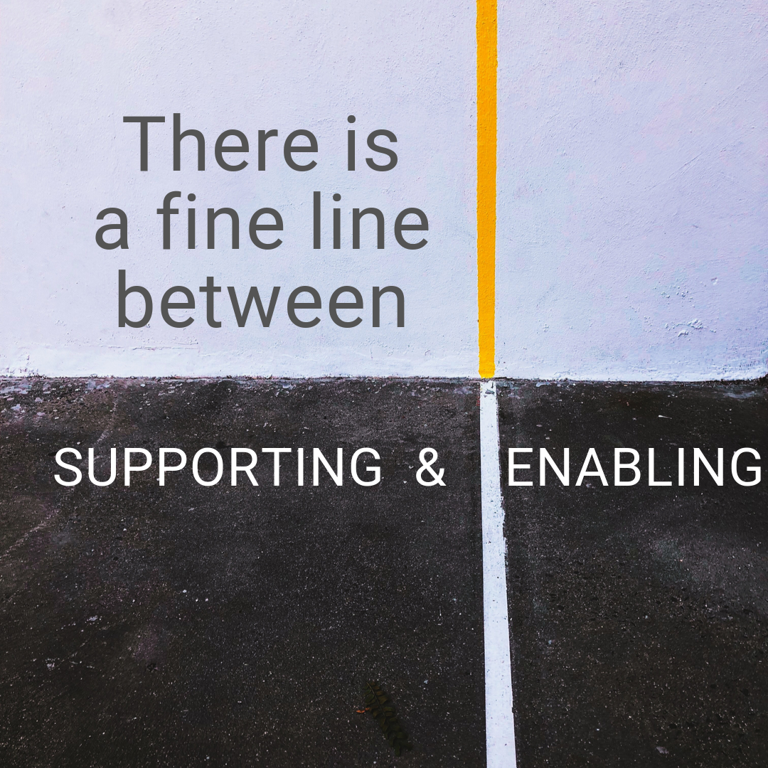supporting or enabling