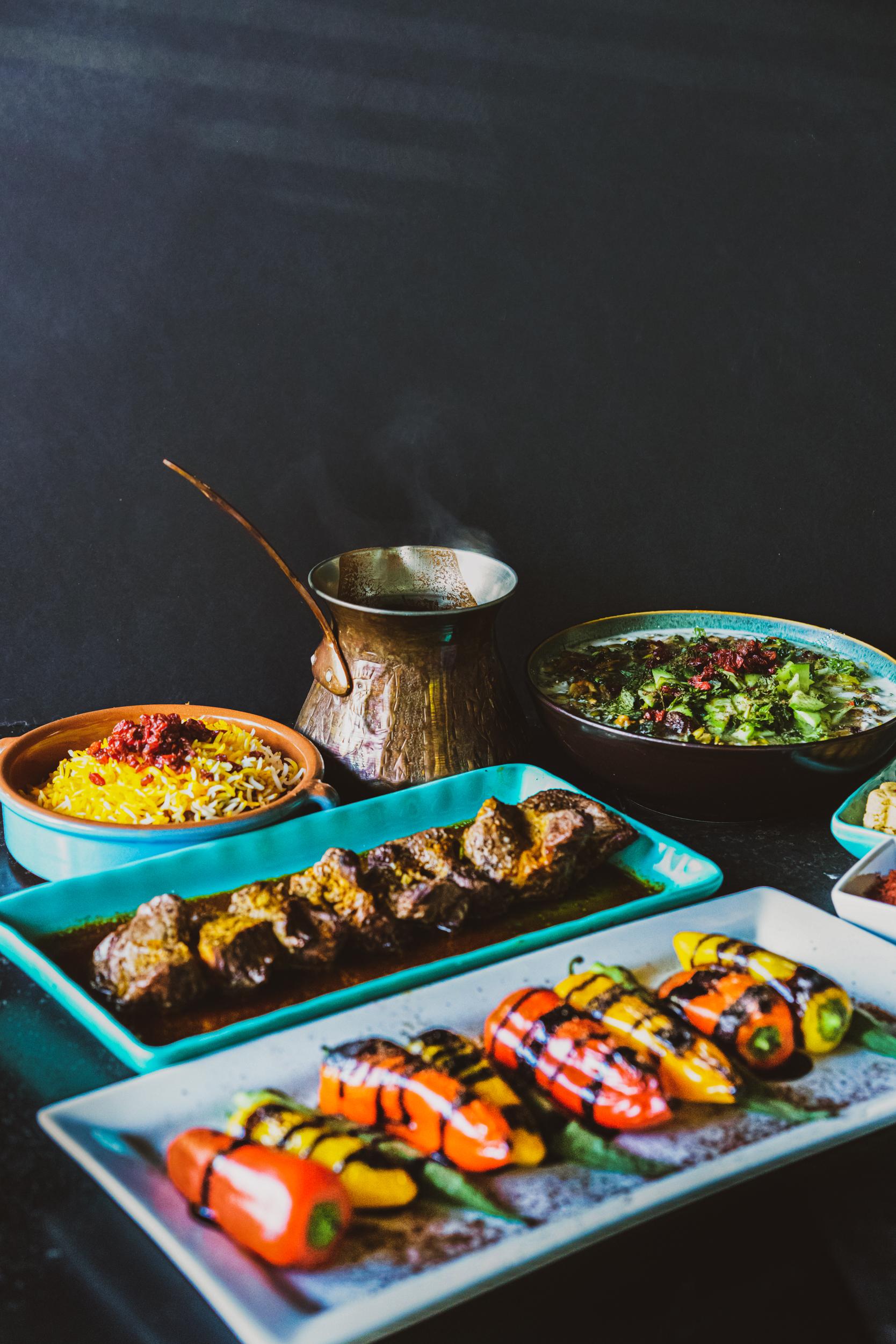 Persian & Mediterranean Inspired Food, Prepared Fresh Daily. - 10724 NE 68th St. Kirkland, WA 98033425.827.2424Weekdays11am–2:30pm5:00pm-8:30pmSaturdays12:00–8:30pmSundays12:00–6:00pmClosed on Mondays
