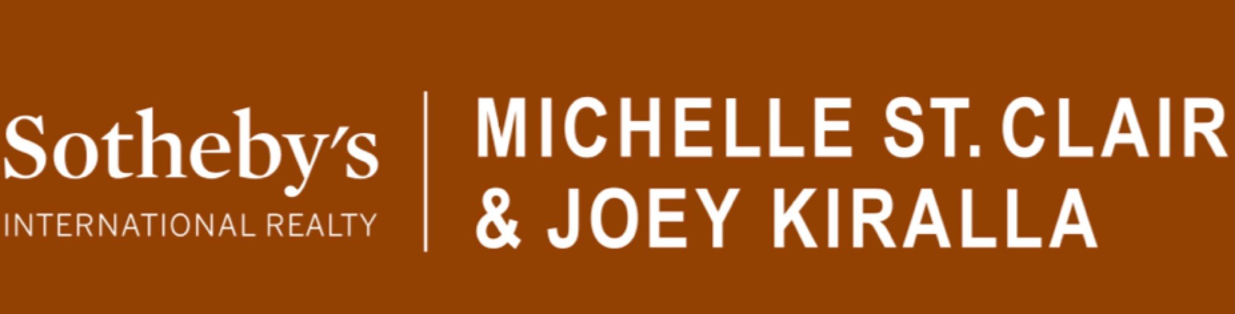 Sotheby's Michelle St. Clair & Joey Kiralla