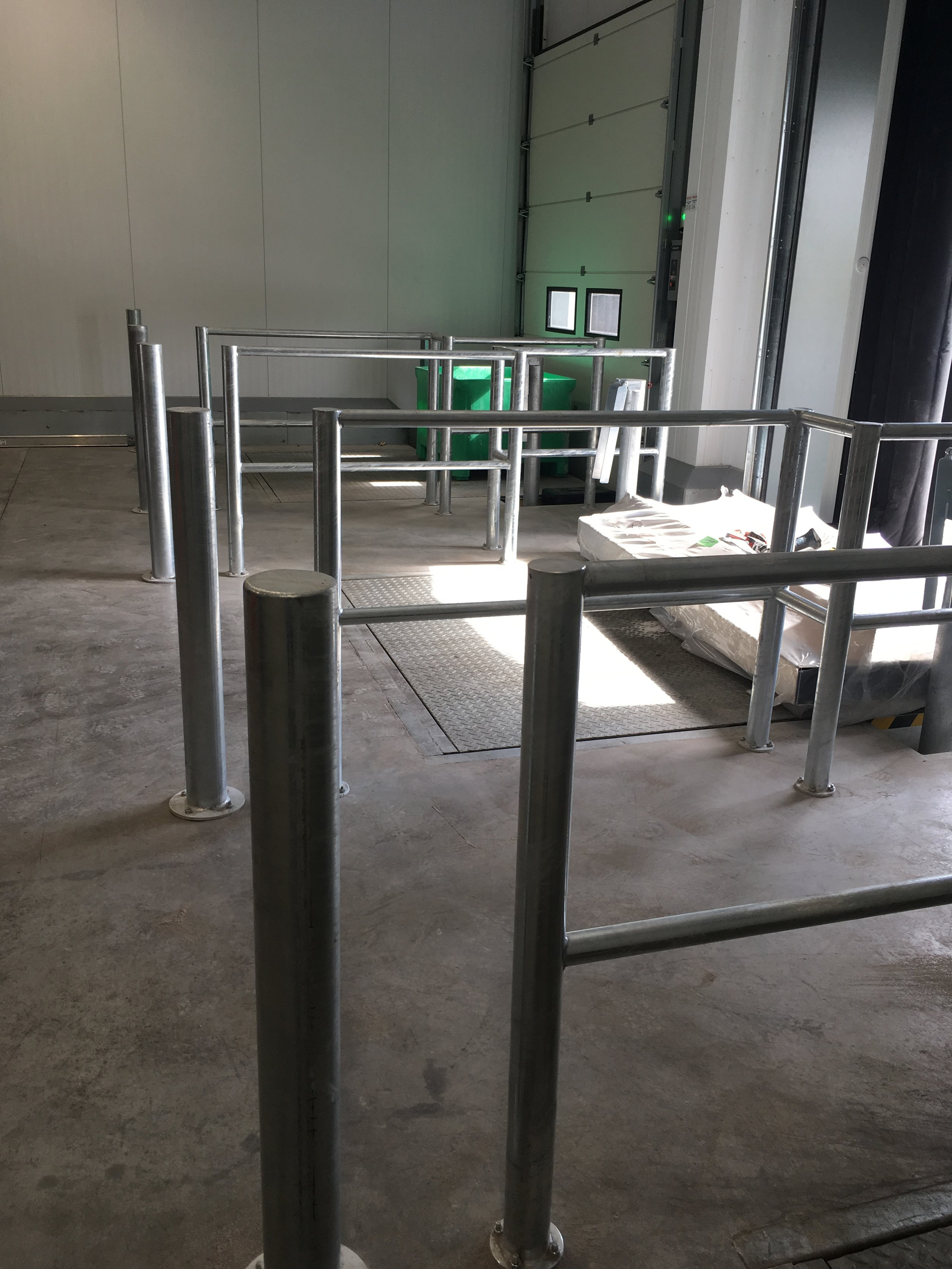 Steel Fabricated Loading Bay